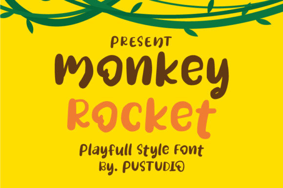 Monkey Rocket Font