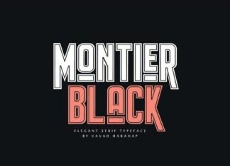 Montier Black Font