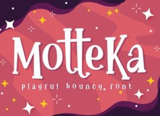 Motteka Font