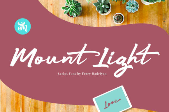 Mount Light Font