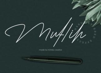 Muflih Font
