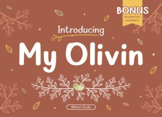 My Olivin Font