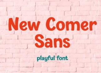 New Comer Sans Font