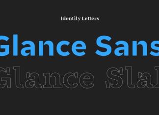 Glance Sans Font