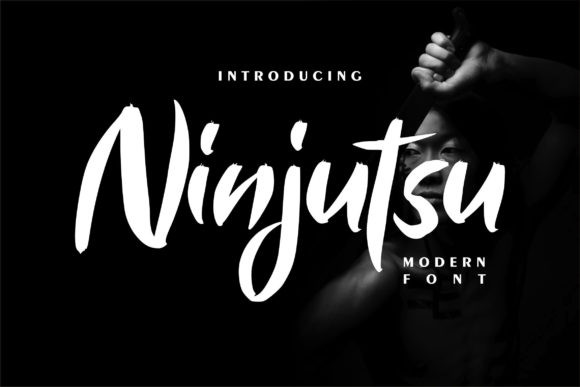 Ninjutsu Font