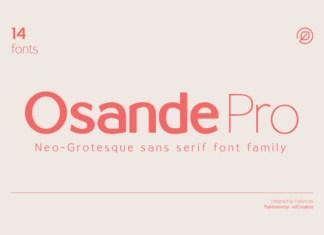 Osande Font