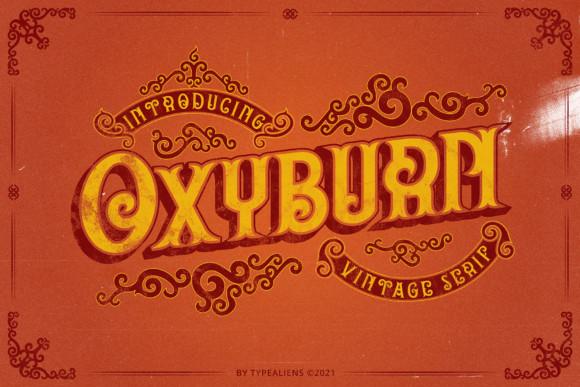 Oxyburn Font