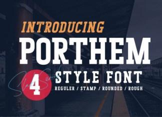 Porthem Font