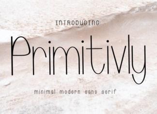 Primitivly Font