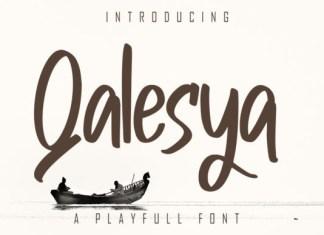 Qalesya Font