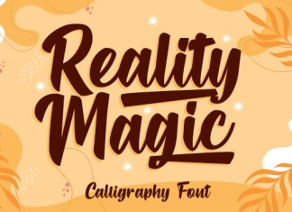 Reality Magic Font