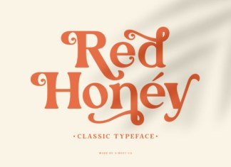 Red Honey Font