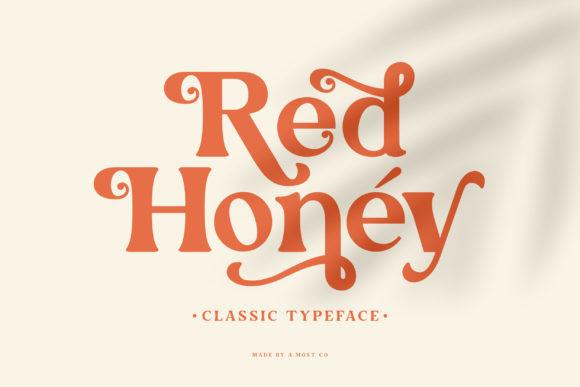 Red Honey Font