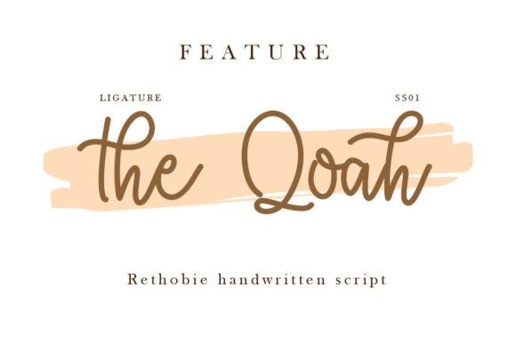 Rethobie Font