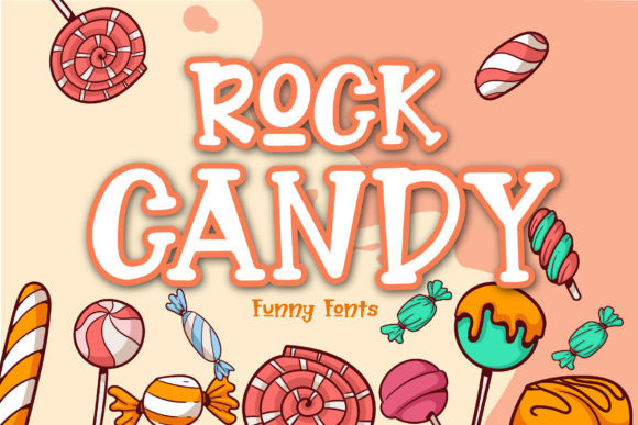 Rock Candy Font
