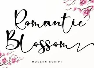 Romantic Blossom Font