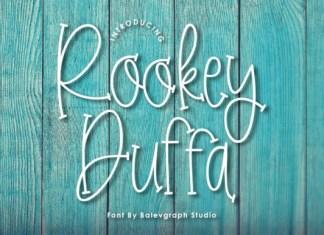 Rookey Duffa Font