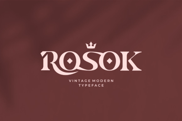 Rosok Font