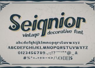 Seignior Font