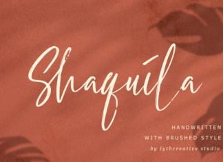 Shaquila Font