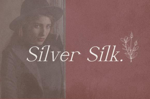 Silver Silk Font