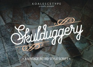 Skulduggery Font