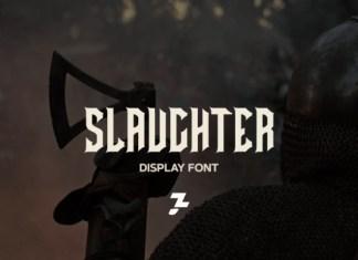Slaughter Font