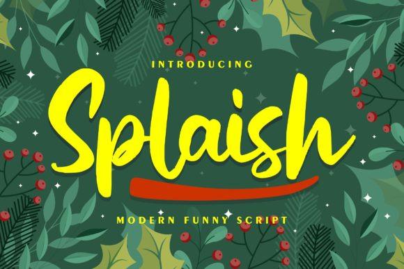 Splaish Font