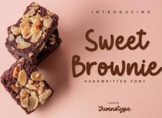 Sweet Brownie Font
