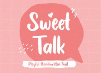 Sweet Talk Font