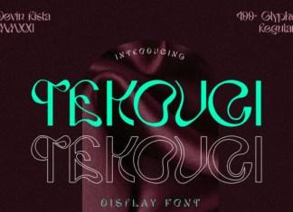 Tekouci Font