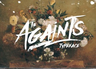 The Againts Font