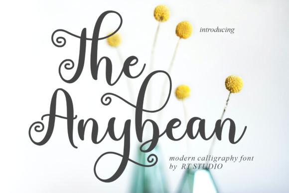 The Anybean Font