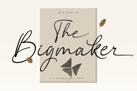 The Bigmaker Font