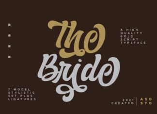 The Bride Font