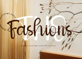 The Fashions Font