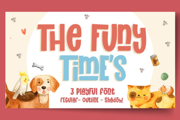 The Funy Time's Font