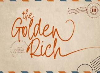 The Golden Rich Font