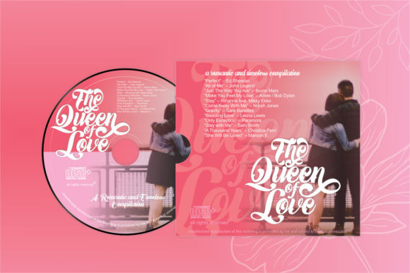 The Queen of Love Font