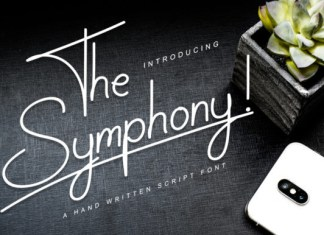The Symphony! Font