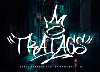 Tratags Font