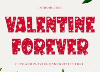 Valentine Forever Font