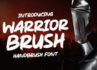 Warrior Brush Font