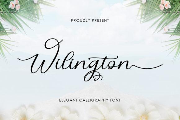 Wilington Font