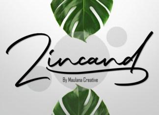 Zincand Font