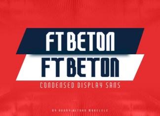 FT Beton Font