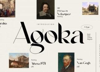 Agoka Font