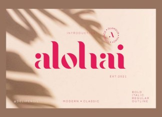 Alohai Font