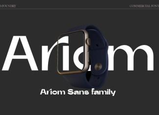 Ariom Font