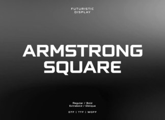 Armstrong Square Font